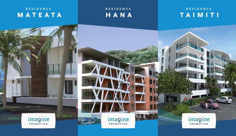 Vous êtes intéressés par l'acquisition en VEFA d'un bien dans l'une de ces 3️ résidences ?